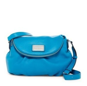 NWT Marc Jacobs Classic Messenger Bag turquoise